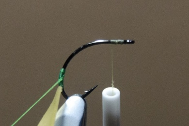 Fly tying - N.A.KH. (Not Another Klinkhamer). - Step 2