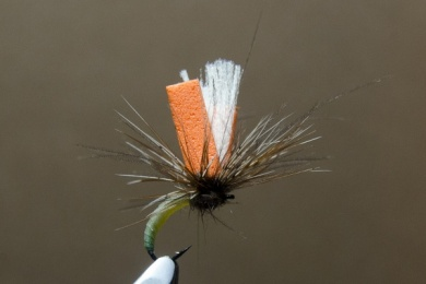 Fly tying - N.A.KH. (Not Another Klinkhamer). - Step 10