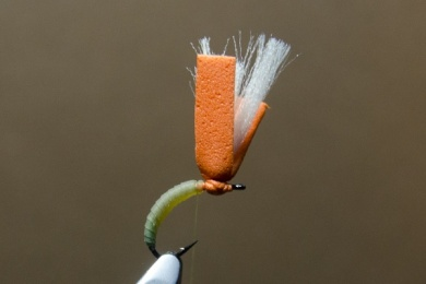 Fly tying - N.A.KH. (Not Another Klinkhamer). - Step 6