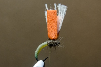 Fly tying - N.A.KH. (Not Another Klinkhamer). - Step 8