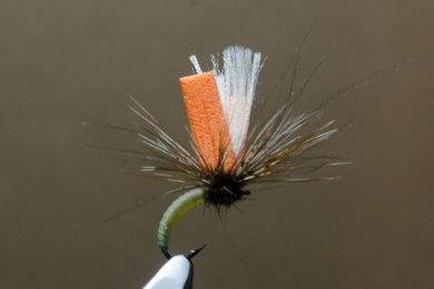 Fly tying - N.A.KH. (Not Another Klinkhamer). - Step 11