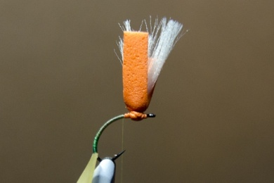 Fly tying - N.A.KH. (Not Another Klinkhamer). - Step 5