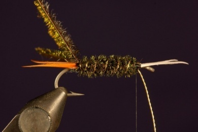 Fly tying - Prince Nymph - Step 7