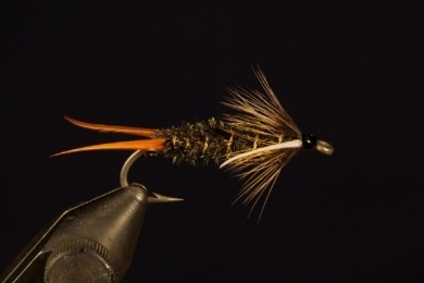 Fly tying - Prince Nymph - Step 10