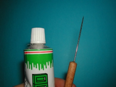 Fly tying - Tube body - Step 1