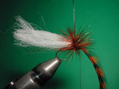 Fly tying - Paraloop with wings - Step 10