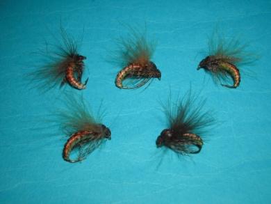 Fly tying - Caddis emerger - Step 16