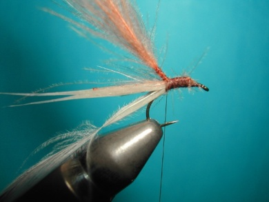 Fly tying - Cripple - Step 5