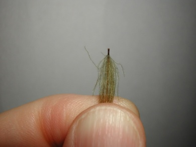Fly tying - Mirage 2 - Step 1