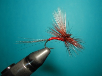 Fly tying - Hook bent fly - Step 15