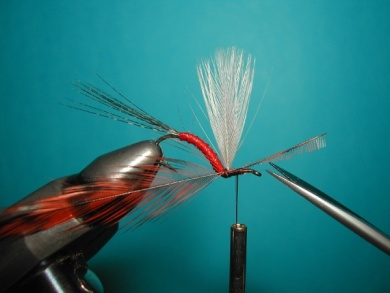 Fly tying - Hook bent fly - Step 11