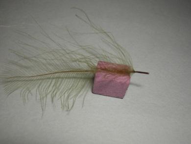 Fly tying - Giuseppina - Step 2