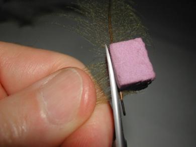 Fly tying - Giuseppina - Step 3