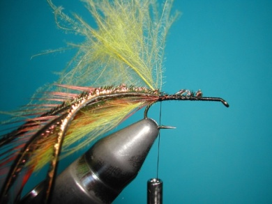Fly tying - Palmer - Step 3