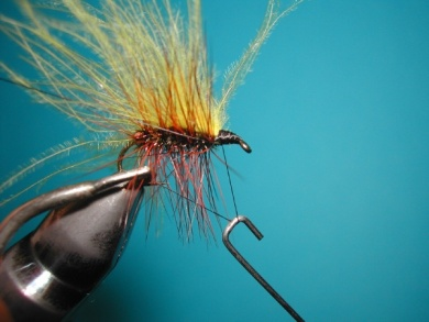 Fly tying - Palmer - Step 8