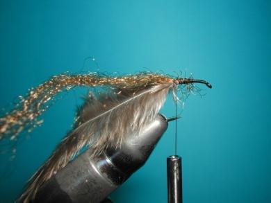 Fly tying - CDC still born - Step 2